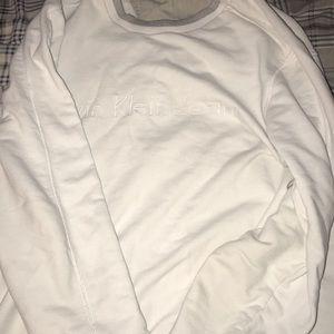 My Calvin Klein sweatshirt